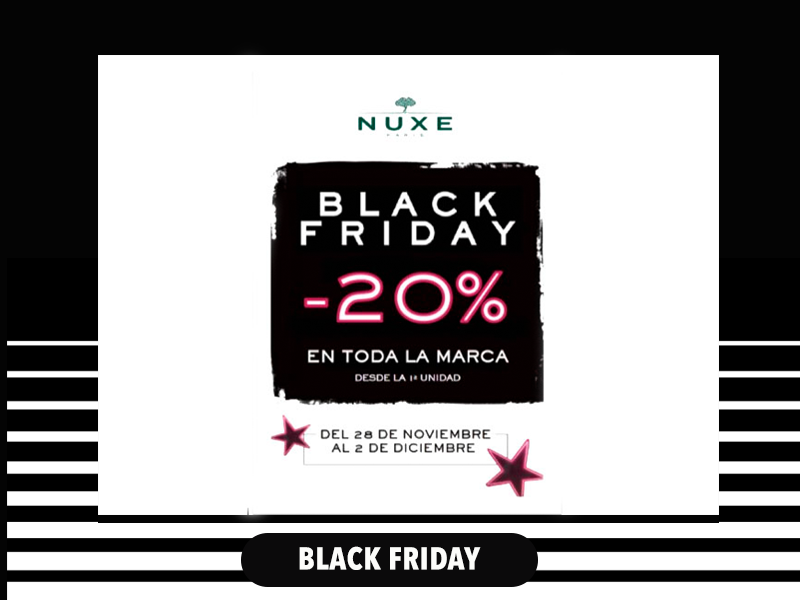 COSMETICA NATURAL NUXE 20% DTE